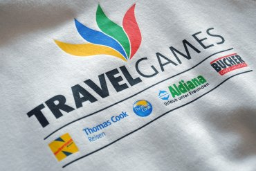 Siebdruck Travelgames